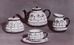 Н.Б. Квитницкая. Сервиз. 1965