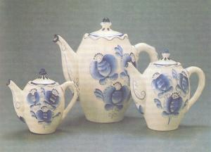 З.В. Окулова Набор чайников