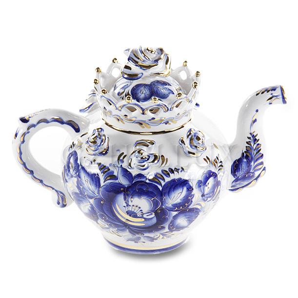 Чайник «С Короной» Золото