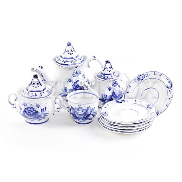 Сервиз чайный «Лебедь»