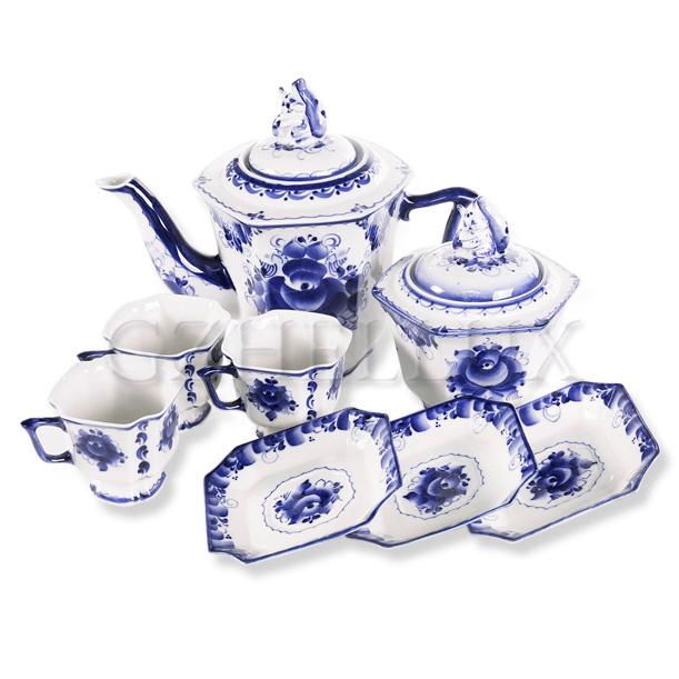Сервиз чайно-кофейный «Граненый»
