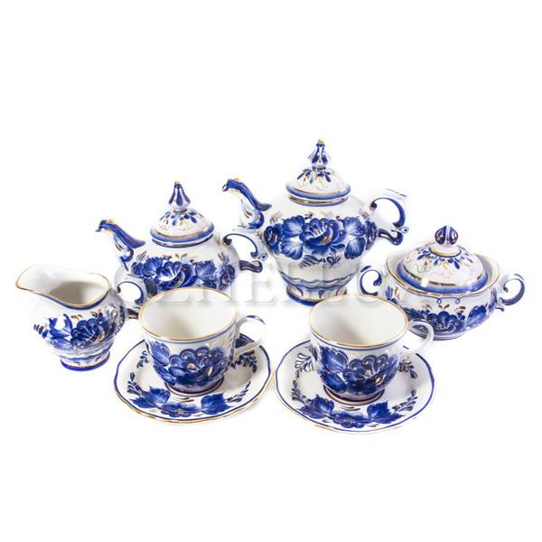 Сервиз чайный «Наталья» в золоте