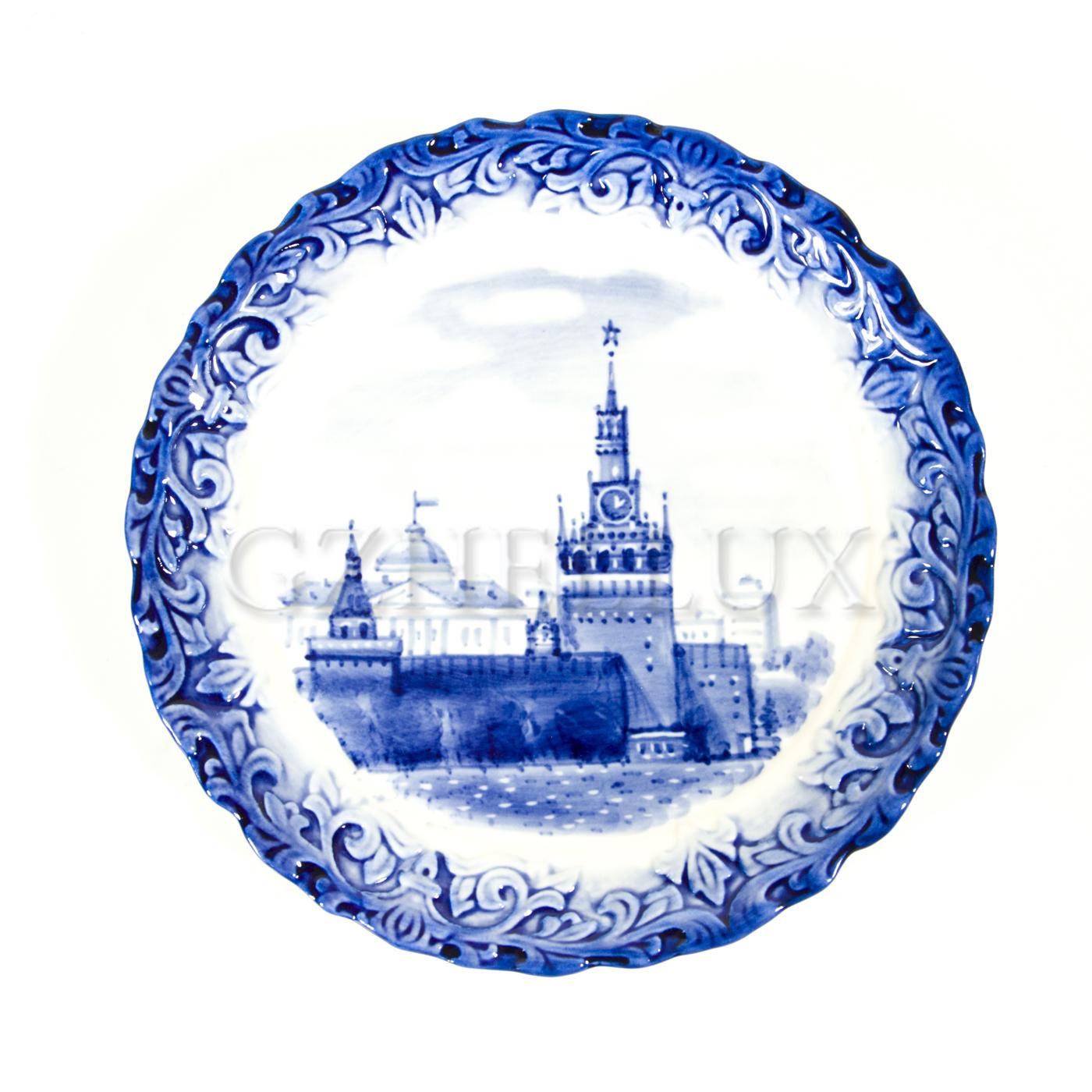 Тарелка декоративная «Кремль»