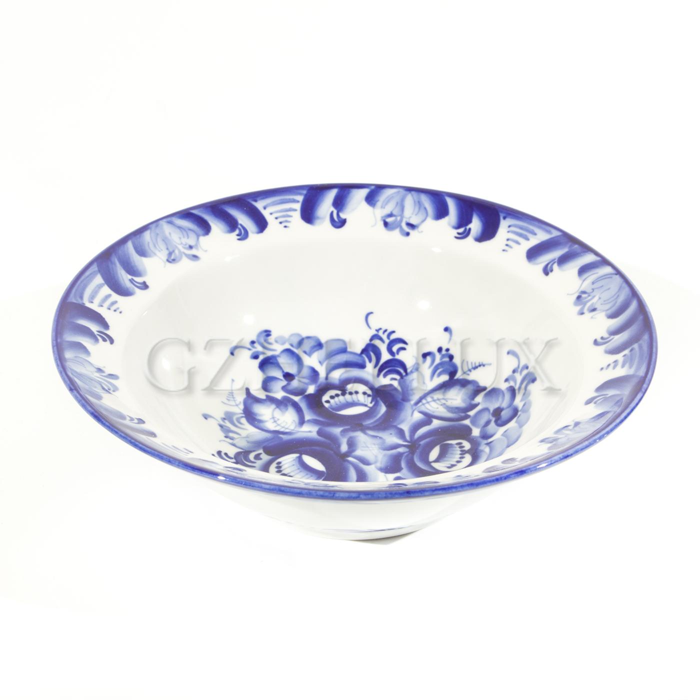 Тарелка полупорционная «Букет»