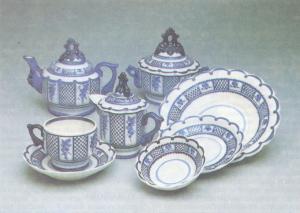Дунашова Т. С. Чайный набор «Сеточка»