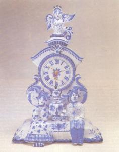 Федотов А. Н. Часы «Чаепитие»