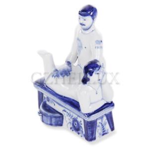 Скульптура Гжельская баня №2