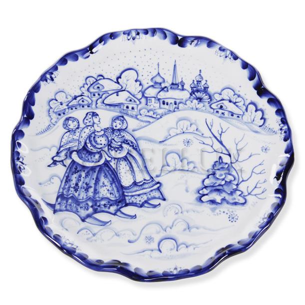 Блюдо «Зимняя Прогулка»