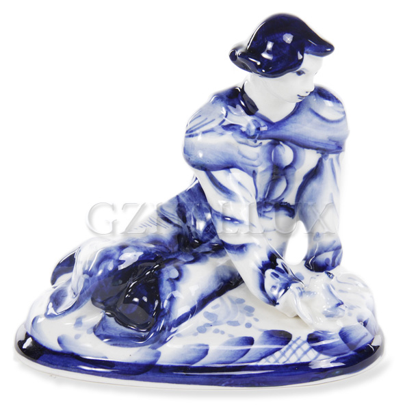 Скульптура «Иван Царевич с Лягушкой»