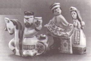 Денисов В. И. Скульптуры «Порожний», «Коробейники»