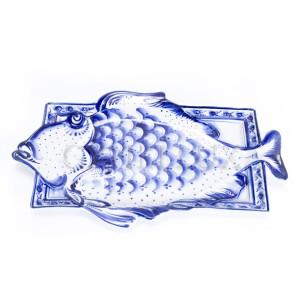 """Лоток """"Зимняя рыба"""""""
