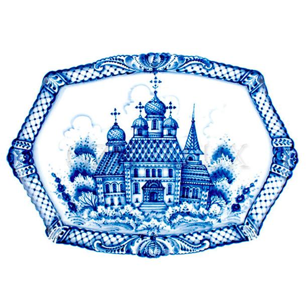 Картина «Русская церковь»