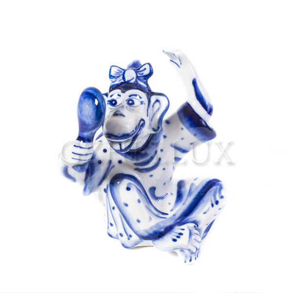 Скульптура «Обезьяна с Зеркальцем»