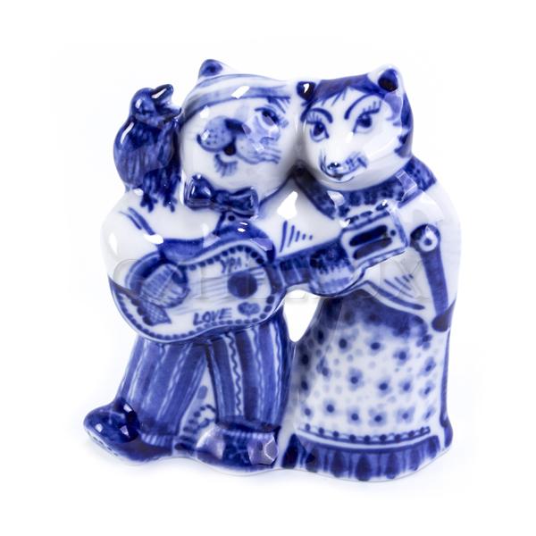 Скульптура «Лиса-Алиса и Кот-Базилио»
