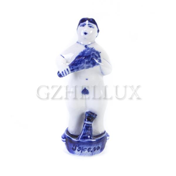Скульптура «Гжельская Банька» №5