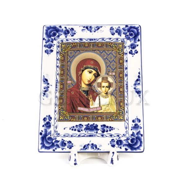 Плакетка «Духовная» с иконой