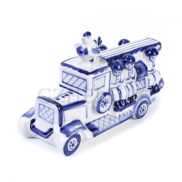 Скульптура «Пожарная машина»