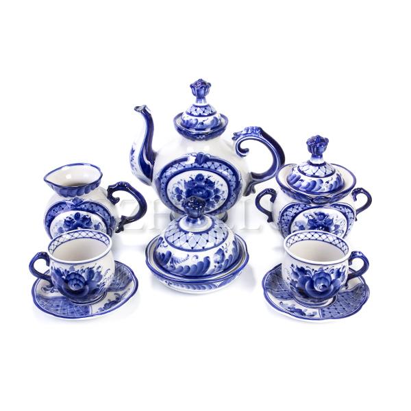 Сервиз чайный «Полевые цветы»