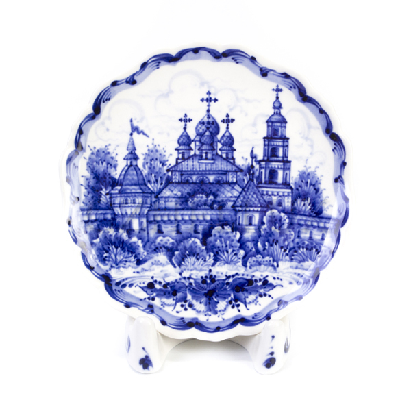Тарелка декоративная «Монастырь»