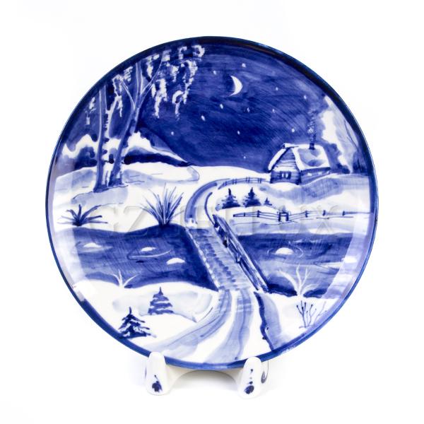 Тарелка декоративная «Ночь»