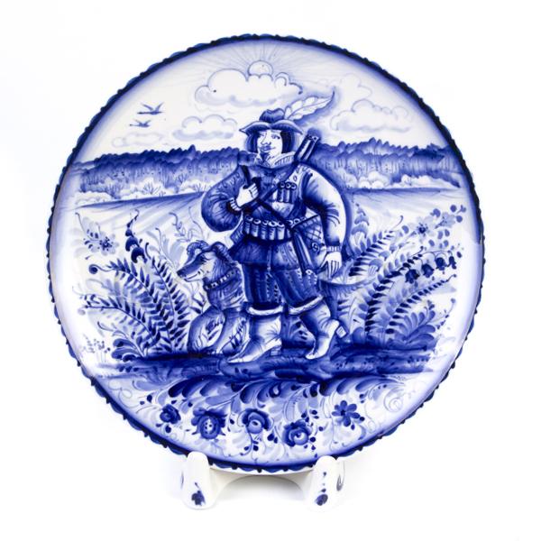Тарелка декоративная «Охота»
