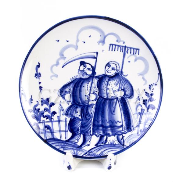 Тарелка декоративная «Сенокос»