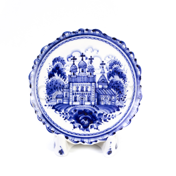 Тарелка декоративная «Русская Церковь»