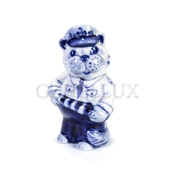 Скульптура «Кот-Автоинспектор»