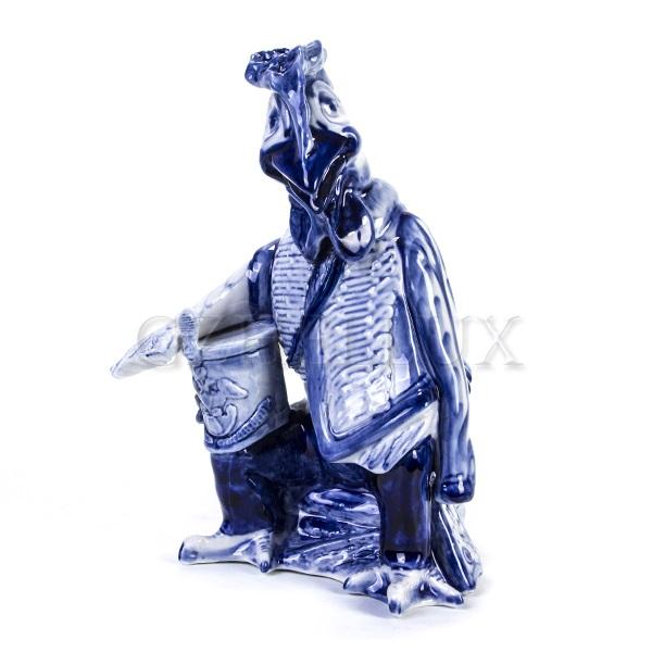 Скульптура «Петух-Гусар»