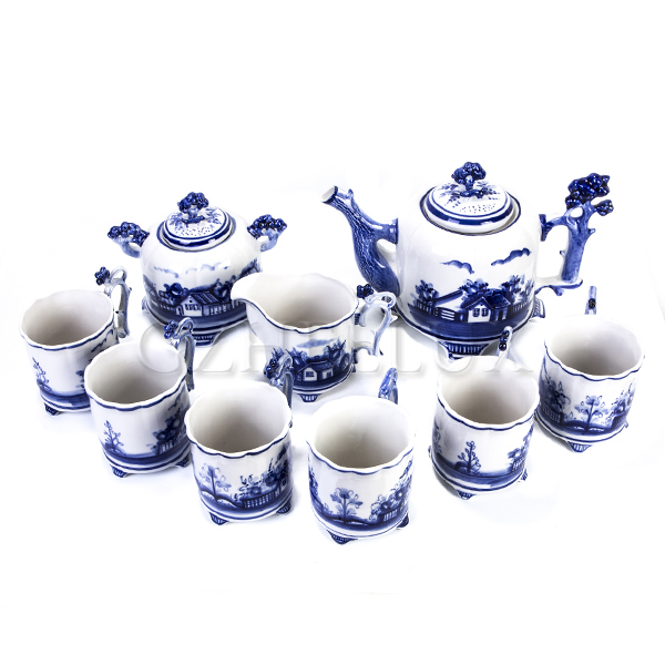 Сервиз чайный «Деревня»