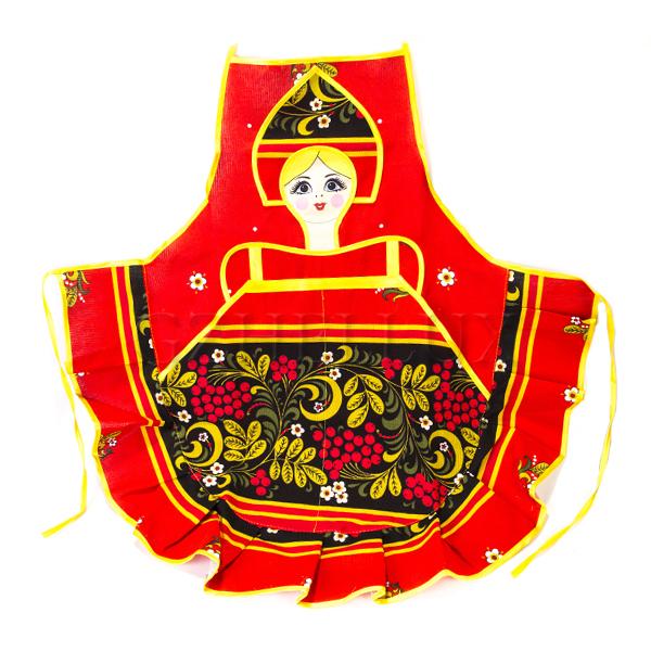 Фартук «Русская Красавица» Хохлома