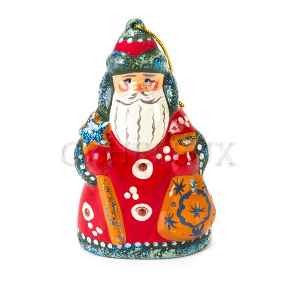 Ёлочная Игрушка «Дед Мороз» в красках