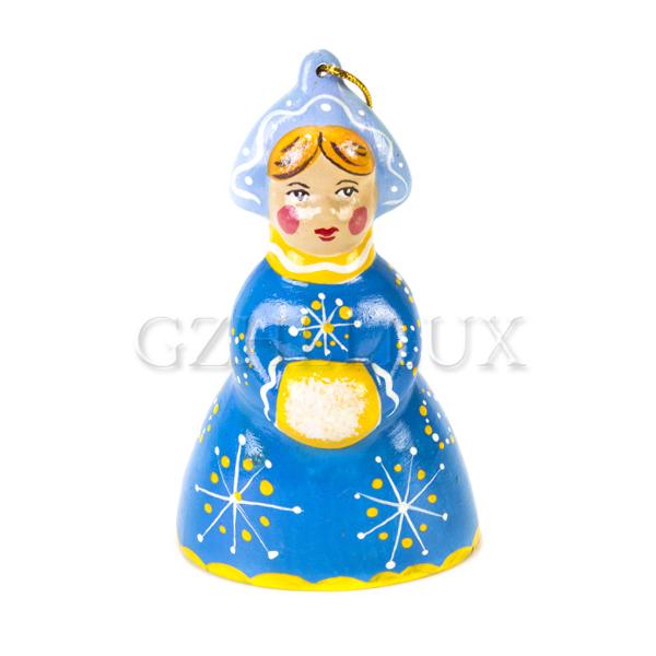 Ёлочная Игрушка «Снегурочка» в красках