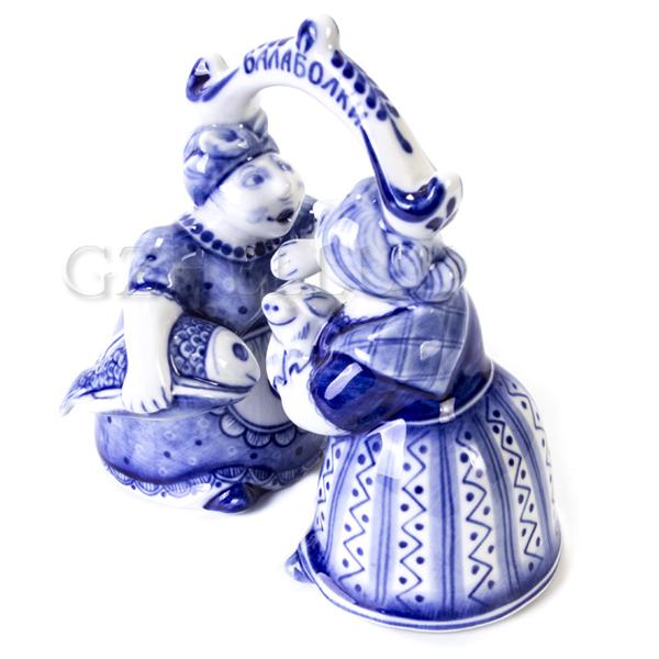 Сувенир Колокольчик «Балаболки»