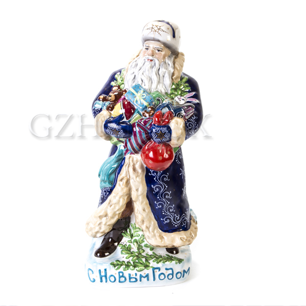 Скульптура «Дед Мороз» Большой в красках