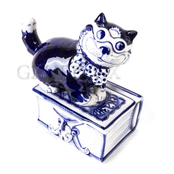 Шкатулка «Кот Ученый»