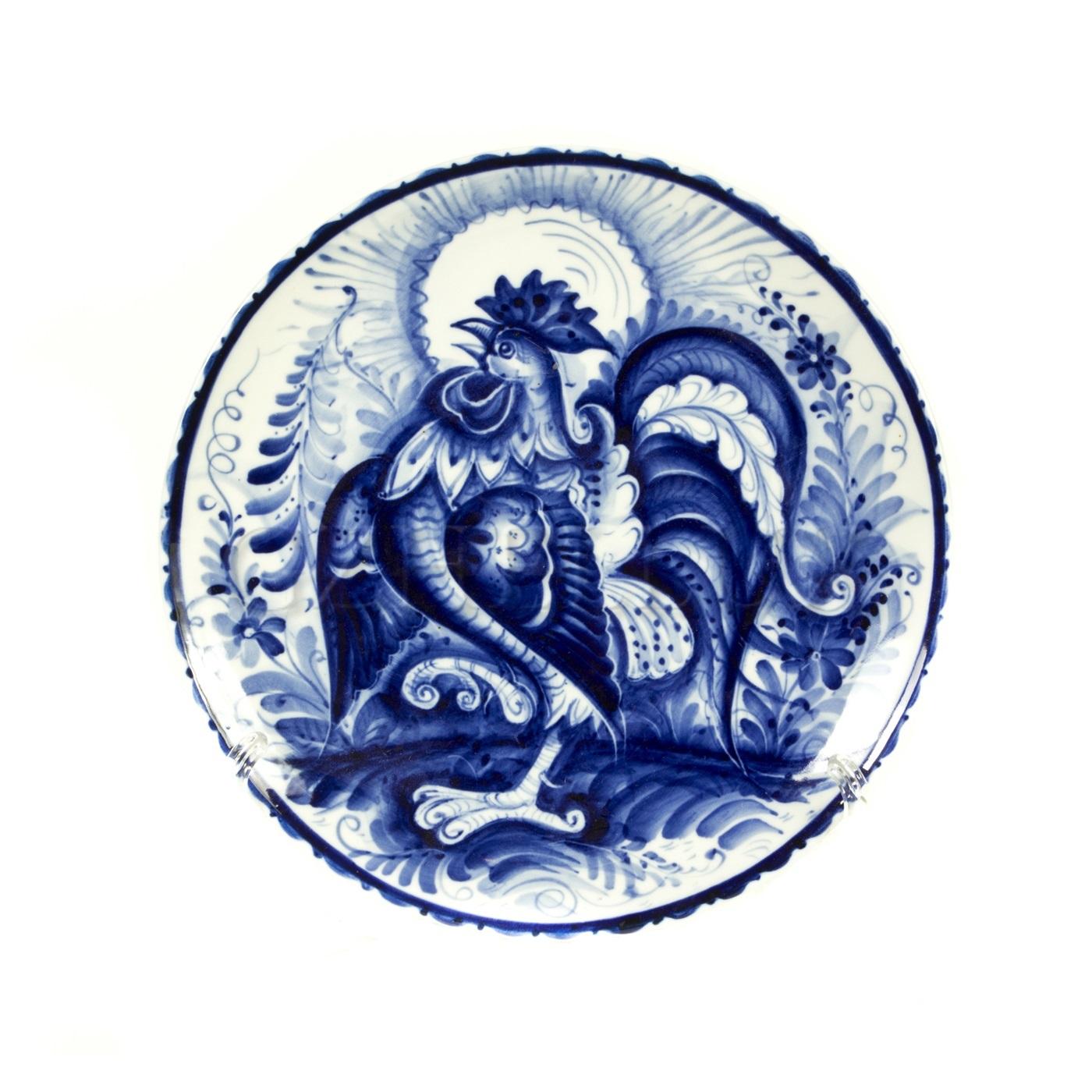 Тарелка декоративная «Петух»