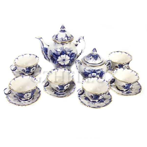 Сервиз чайный «Василиса» в золоте