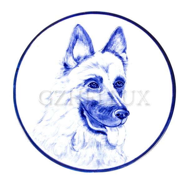 Тарелка декоративная «Верный пёс»