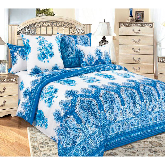 Комплект постельного белья «Гжель» бязь 2