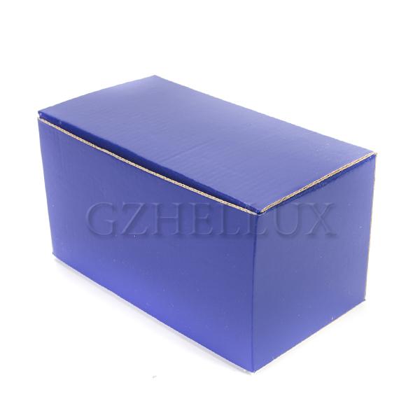 Коробка Гофра синяя