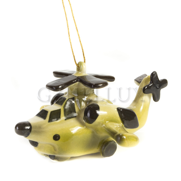 Ёлочная Игрушка «Вертолёт»