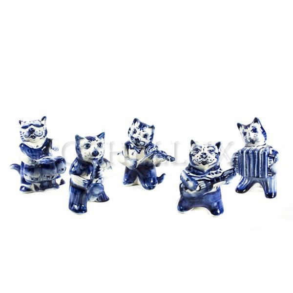 Скульптурный набор «Коты-музыканты»
