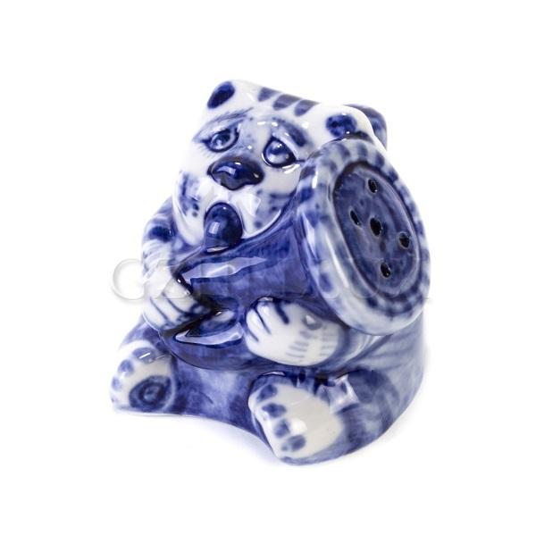 Солонка «Кот с трубой»