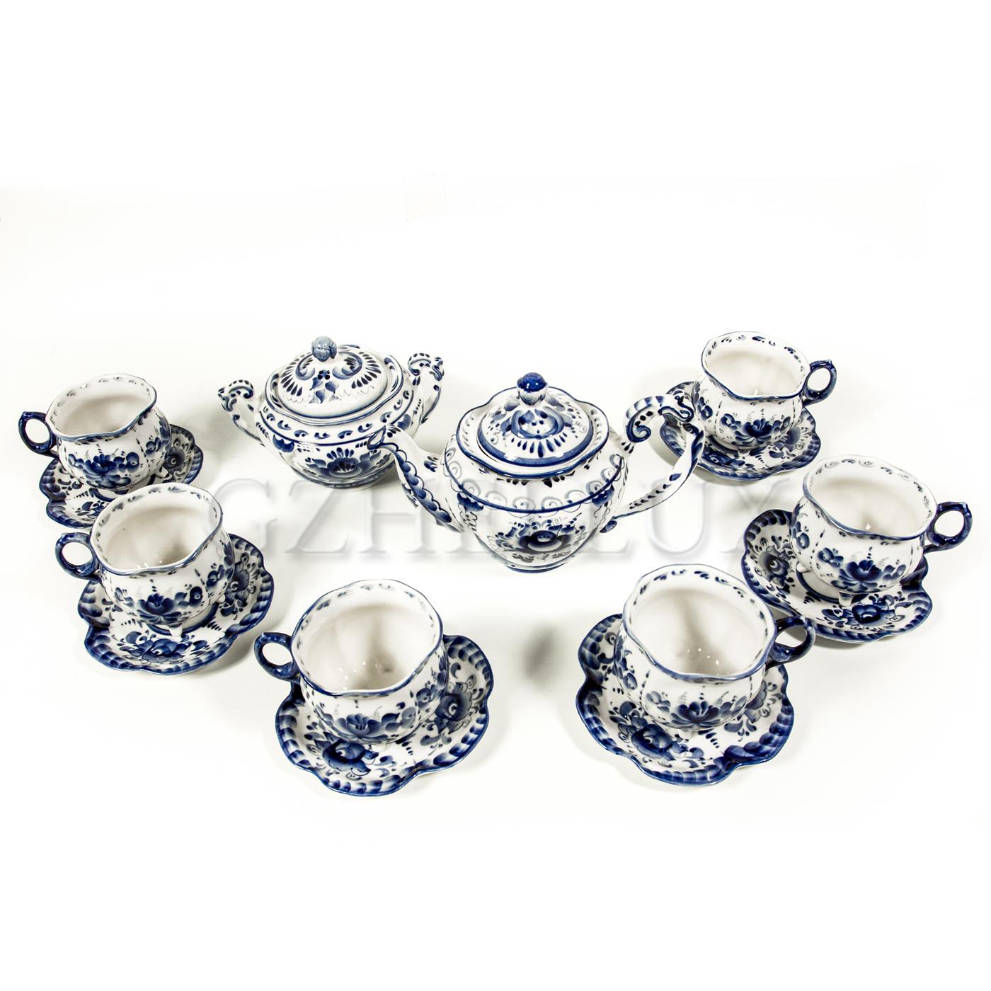 Сервиз чайный «Рождественский»