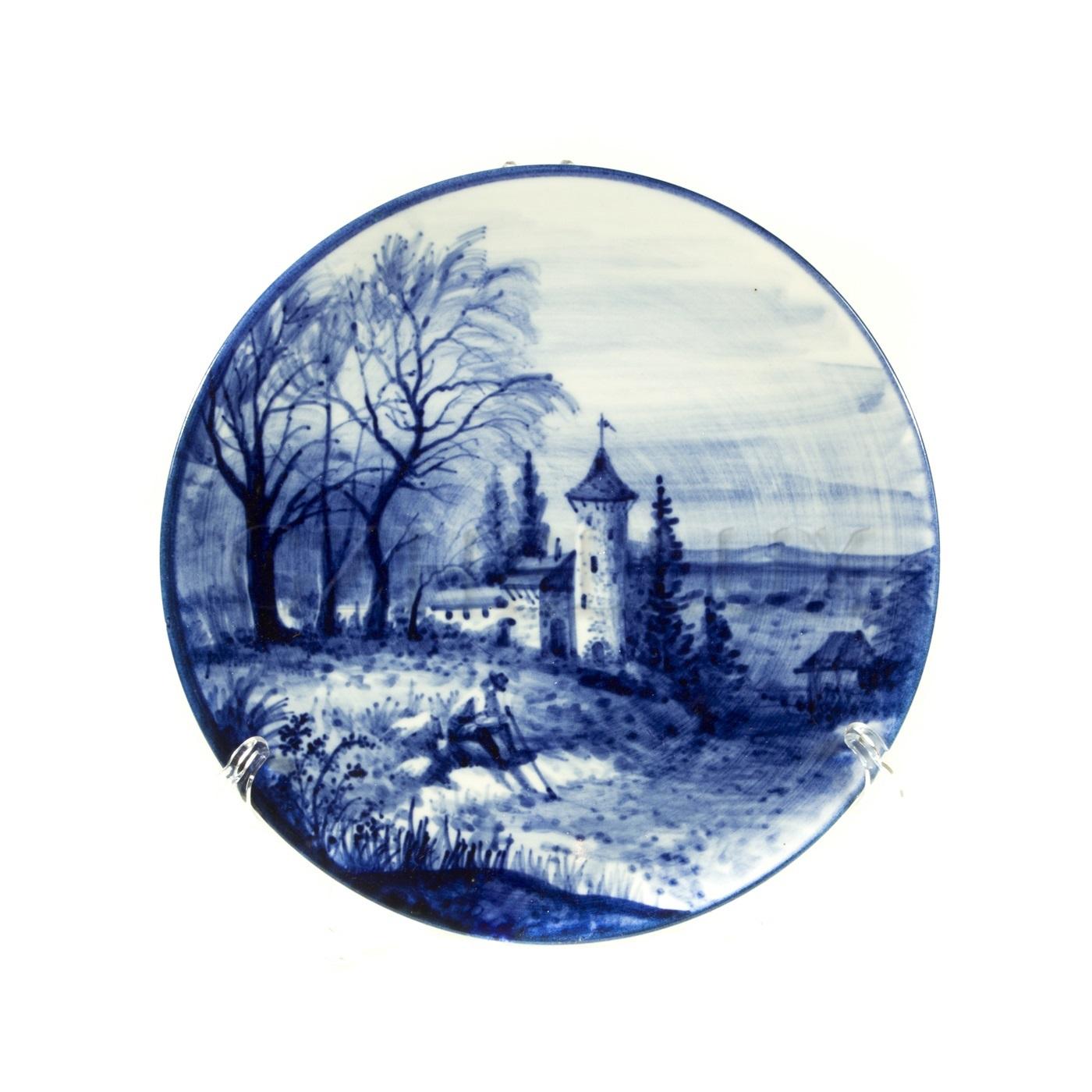 Тарелка декоративная «Крепость»