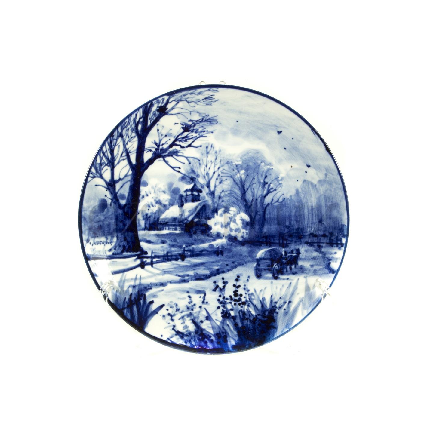 Тарелка декоративная «Русский Пейзаж» №3