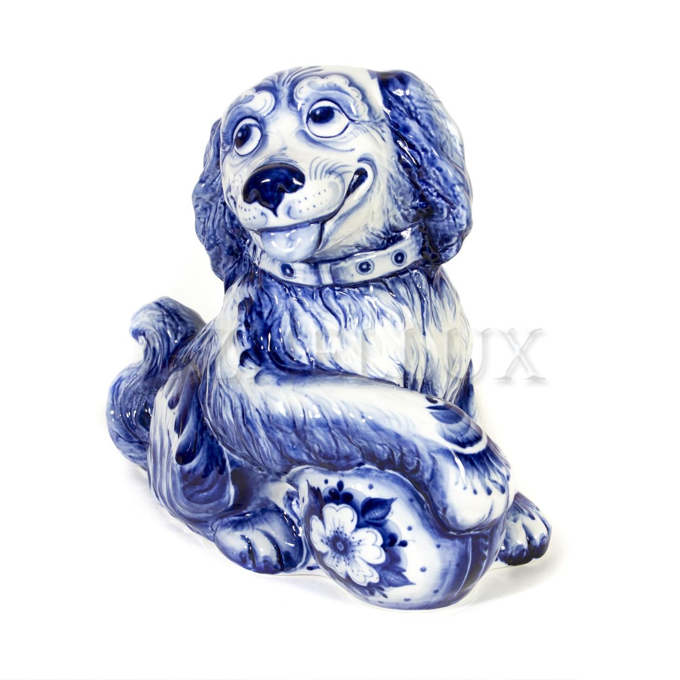 Скульптура «Собака Защитник»