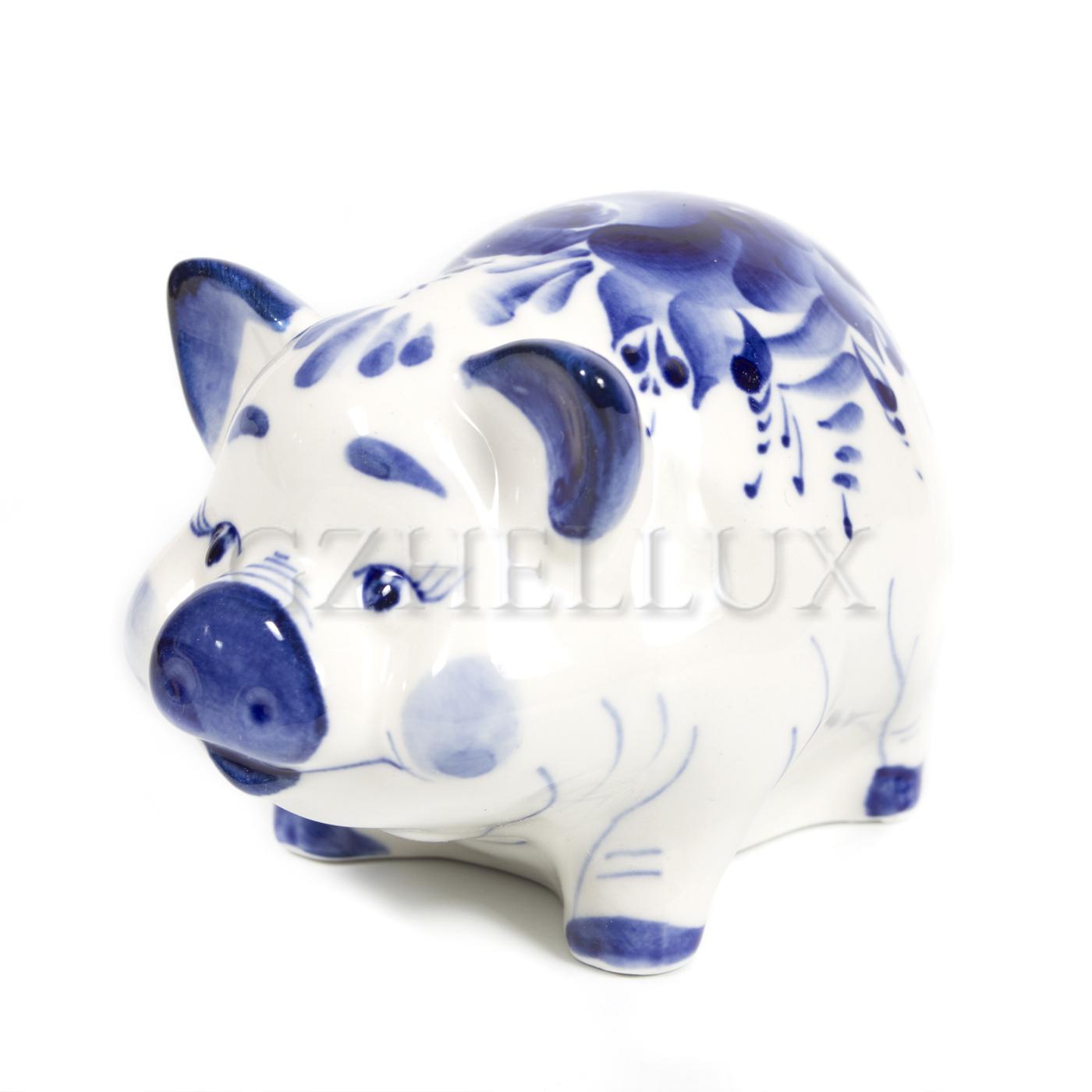 Скульптура «Свинья Кузя»