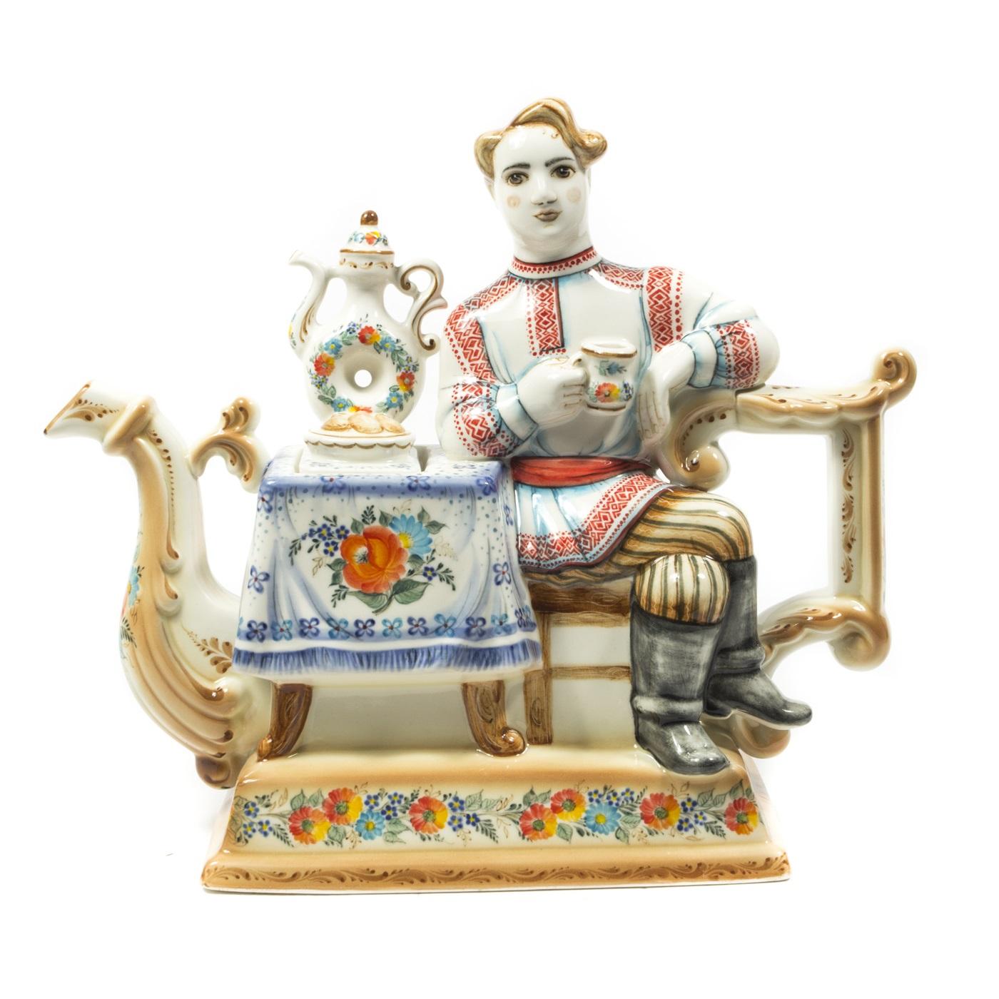 Чайник «Купец» в красках